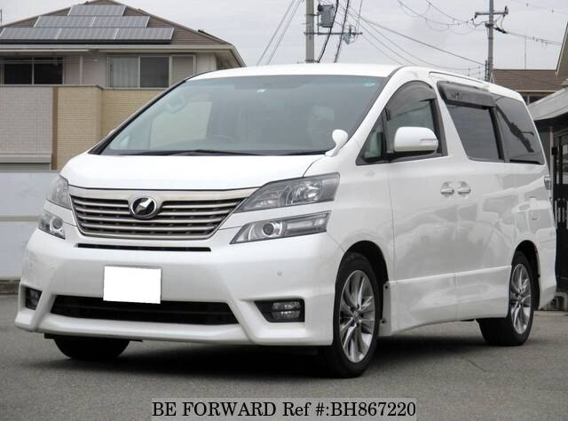 Used 2011 TOYOTA VELLFIRE BH867220 for Sale