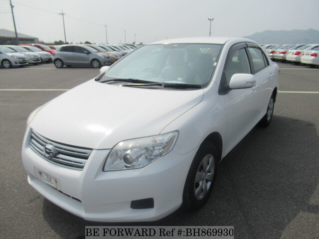 Used 2008 TOYOTA COROLLA AXIO BH869930 for Sale