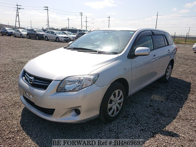 Used 2012 TOYOTA COROLLA FIELDER BH869693 for Sale