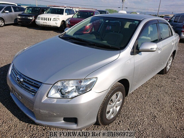 Used 2008 TOYOTA COROLLA AXIO BH869723 for Sale