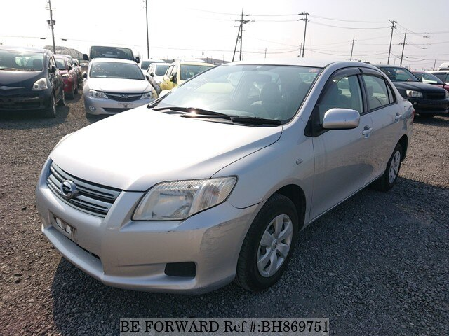 Used 2008 TOYOTA COROLLA AXIO BH869751 for Sale