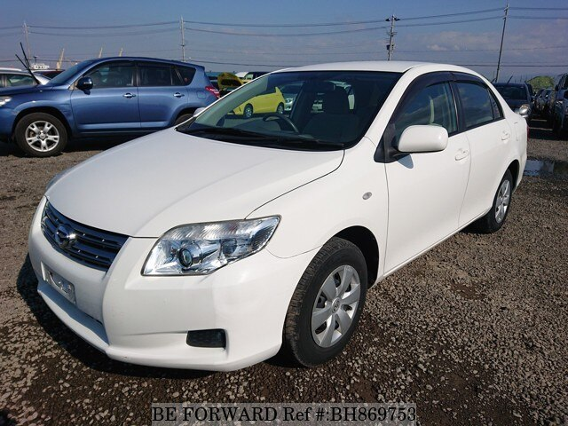 Used 2008 TOYOTA COROLLA AXIO BH869753 for Sale