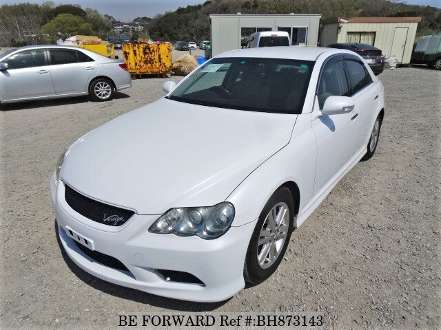 Used 2008 TOYOTA MARK X BH873143 for Sale