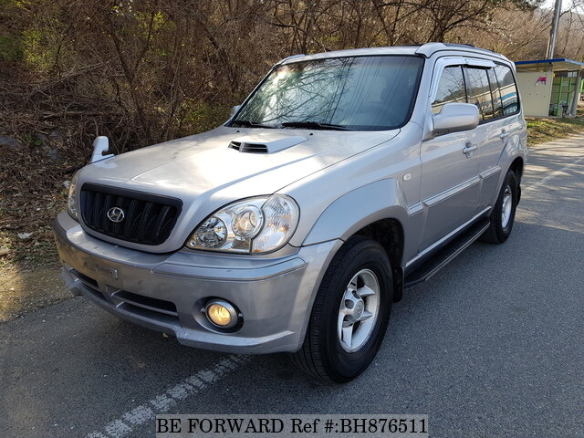 Used 2001 HYUNDAI TERRACAN BH876511 for Sale