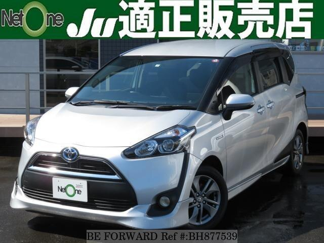 Used 2015 TOYOTA SIENTA BH877539 for Sale