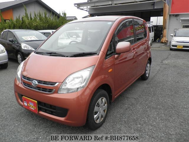 Used 2007 DAIHATSU MOVE BH877658 for Sale