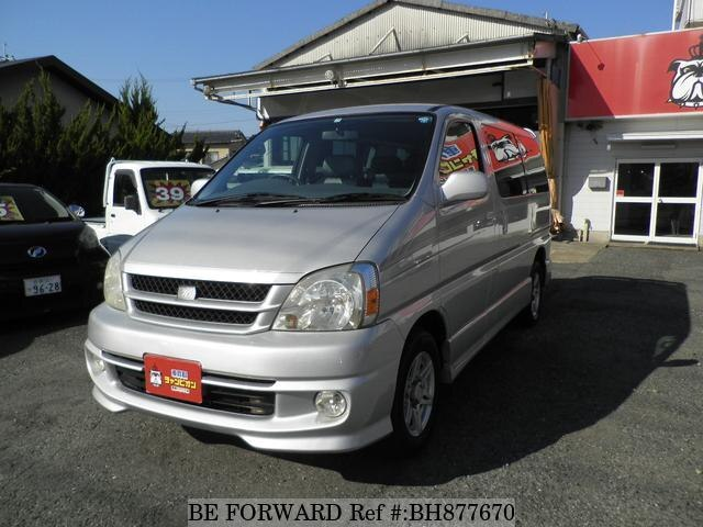 Used 2001 TOYOTA TOURING HIACE BH877670 for Sale