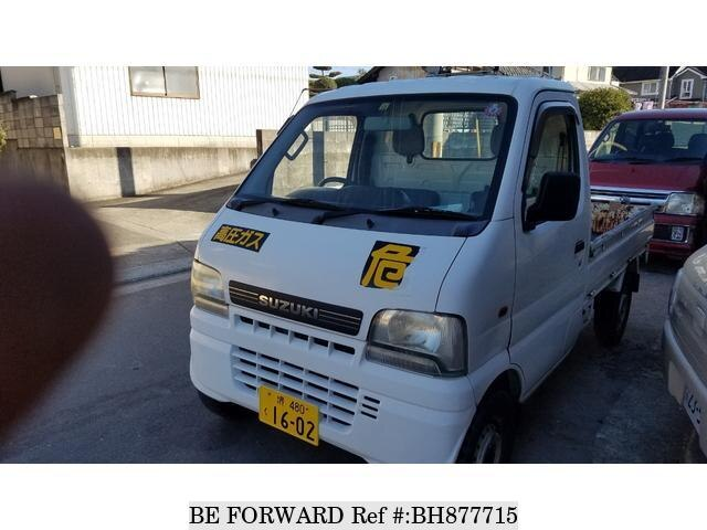 Used 2001 SUZUKI CARRY TRUCK BH877715 for Sale