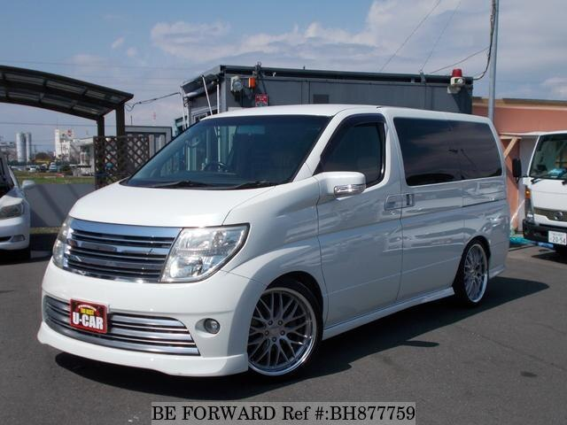 Used 2005 NISSAN ELGRAND BH877759 for Sale