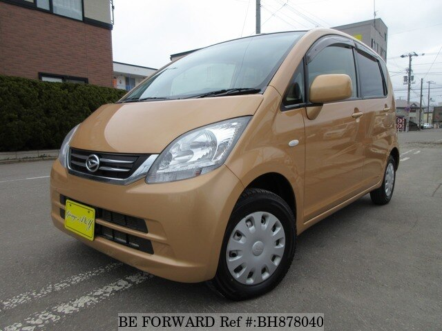 Used 2009 DAIHATSU MOVE BH878040 for Sale