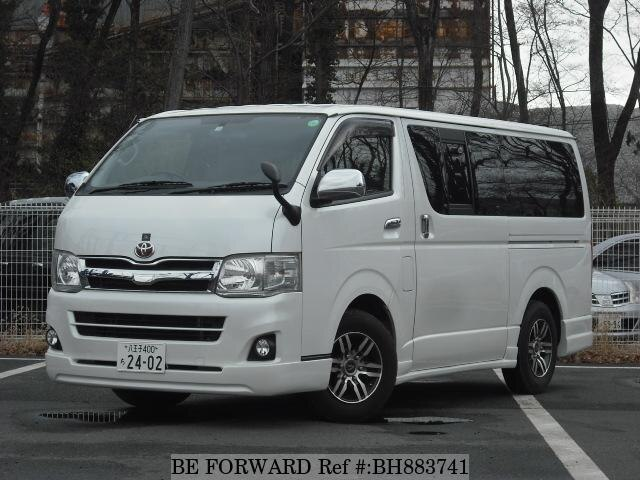 Used 2013 TOYOTA HIACE VAN BH883741 for Sale