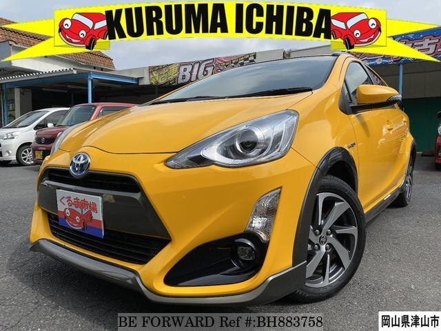 Used 2014 TOYOTA AQUA BH883758 for Sale