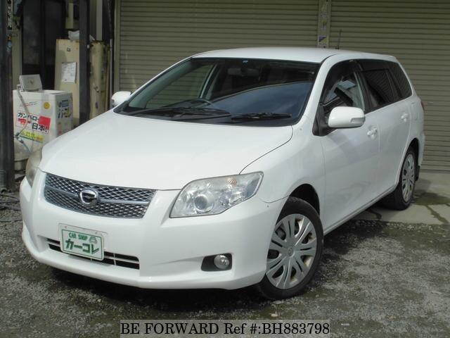 Used 2007 TOYOTA COROLLA FIELDER BH883798 for Sale