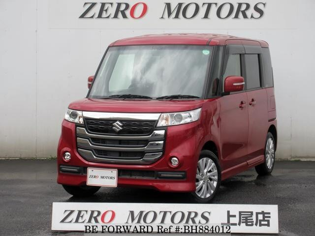 Used 2017 SUZUKI SPACIA BH884012 for Sale