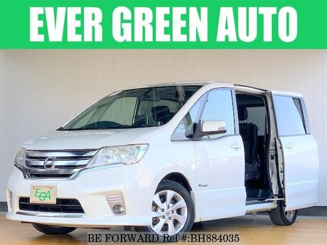 Used 2013 NISSAN SERENA BH884035 for Sale