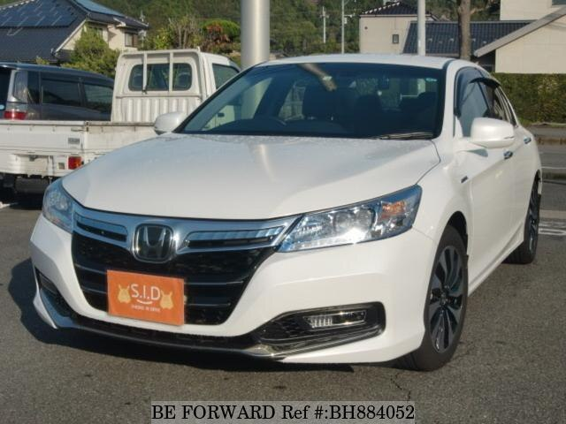 Used 2014 HONDA ACCORD HYBRID BH884052 for Sale