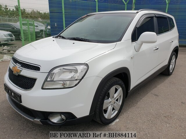 Used 2013 CHEVROLET ORLANDO BH884114 for Sale