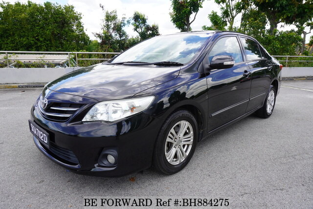 Used 2011 TOYOTA COROLLA ALTIS BH884275 for Sale