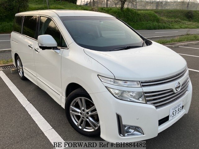 Used 2010 NISSAN ELGRAND BH884482 for Sale