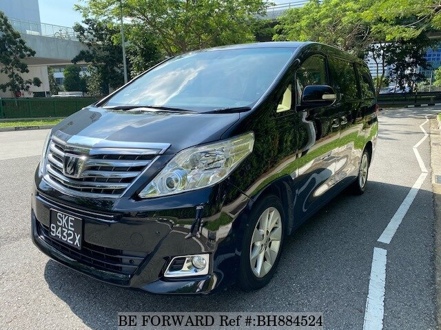 Used 2012 TOYOTA ALPHARD BH884524 for Sale