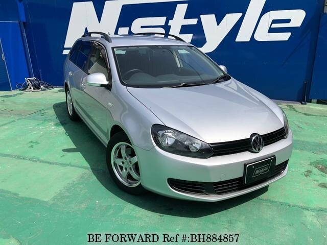 Used 2010 VOLKSWAGEN GOLF VARIANT BH884857 for Sale