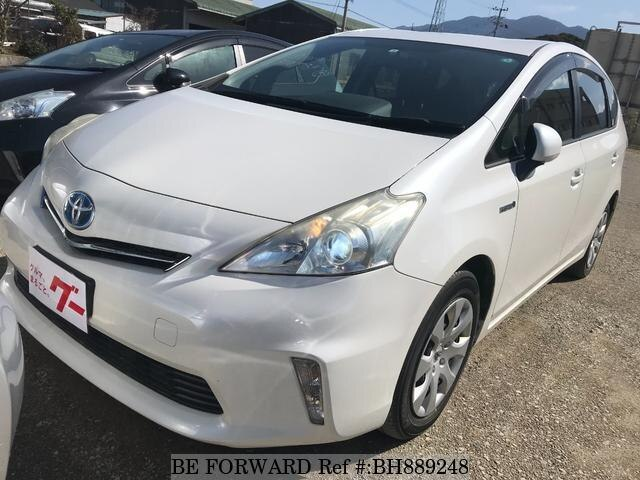 Used 2012 TOYOTA PRIUS ALPHA BH889248 for Sale
