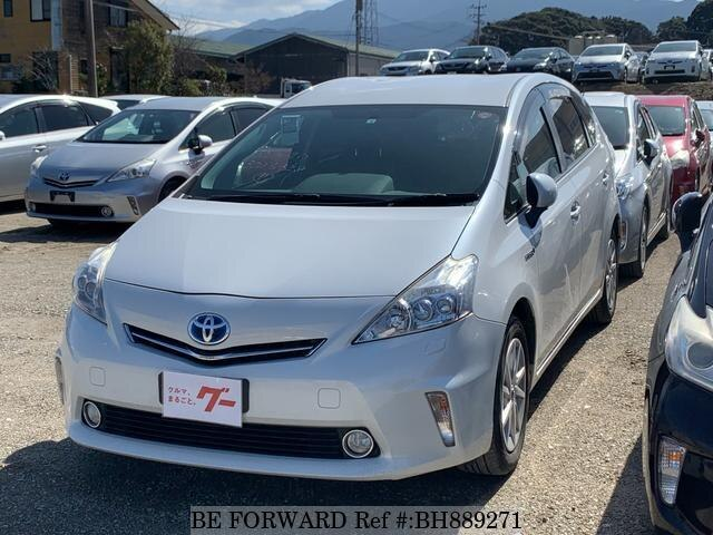 Used 2012 TOYOTA PRIUS ALPHA BH889271 for Sale