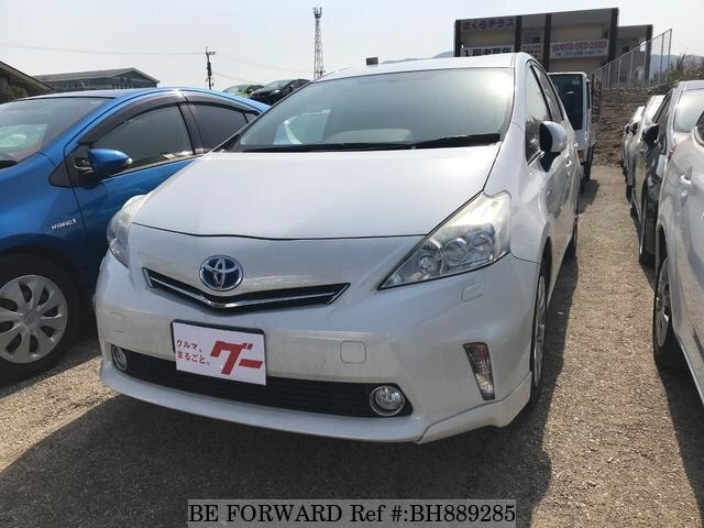 Used 2011 TOYOTA PRIUS ALPHA BH889285 for Sale