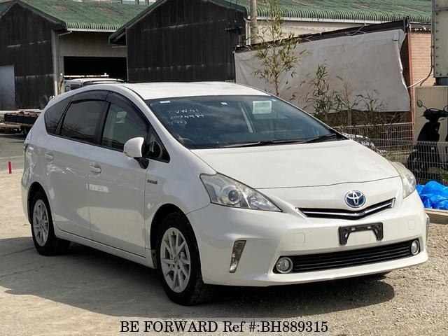 Used 2011 TOYOTA PRIUS ALPHA BH889315 for Sale