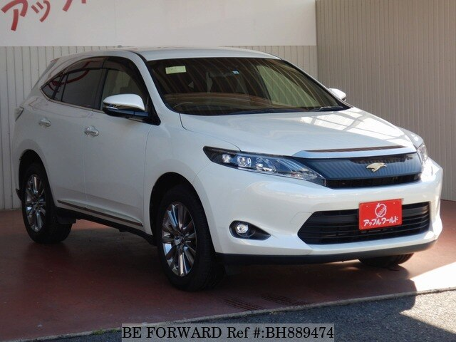 Used 2014 TOYOTA HARRIER BH889474 for Sale