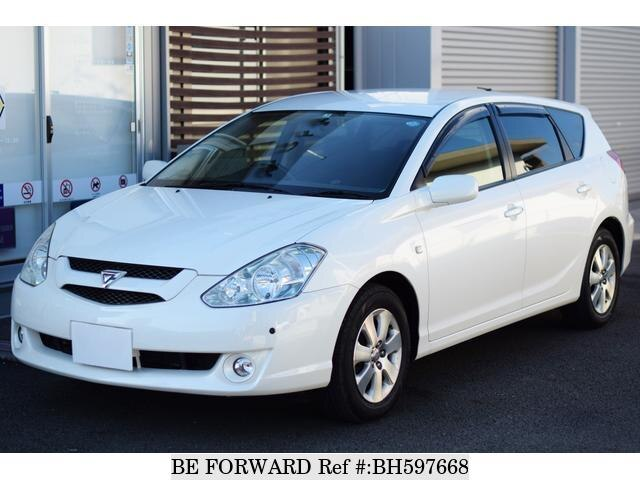 Used 2003 TOYOTA CALDINA BH597668 for Sale