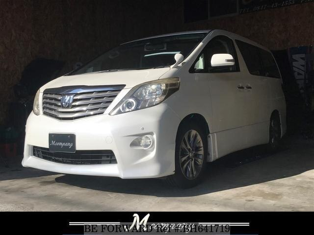 Used 2011 TOYOTA ALPHARD BH641719 for Sale