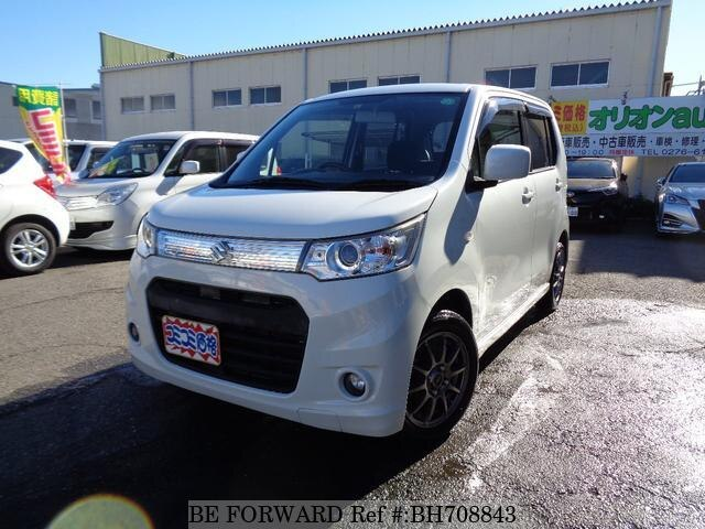 Used 2013 SUZUKI WAGON R BH708843 for Sale