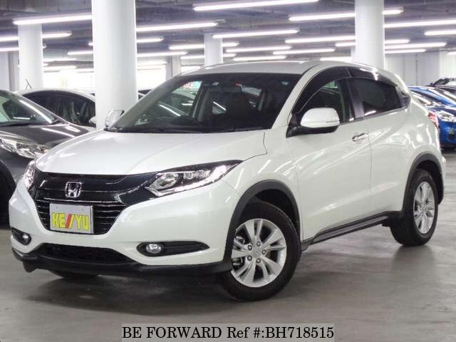 Used 2017 HONDA VEZEL BH718515 for Sale