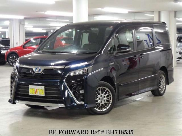 Used 2017 TOYOTA VOXY BH718535 for Sale