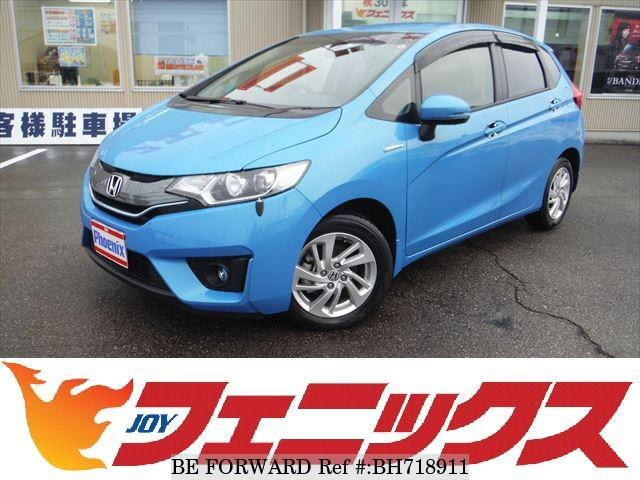Used 2013 HONDA FIT HYBRID BH718911 for Sale