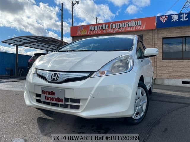 Used 2011 HONDA FIT HYBRID BH720289 for Sale
