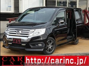 Used 2012 HONDA STEP WGN BH720316 for Sale
