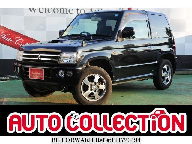 Used 2007 MITSUBISHI PAJERO MINI BH720494 for Sale