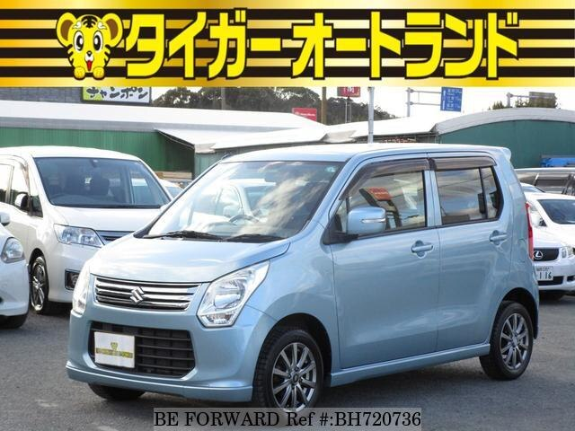 Used 2013 SUZUKI WAGON R BH720736 for Sale