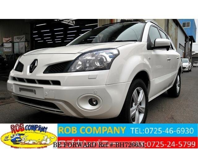 Used 2010 RENAULT KOLEOS BH726651 for Sale