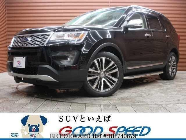 Used 2016 FORD EXPLORER BH740679 for Sale