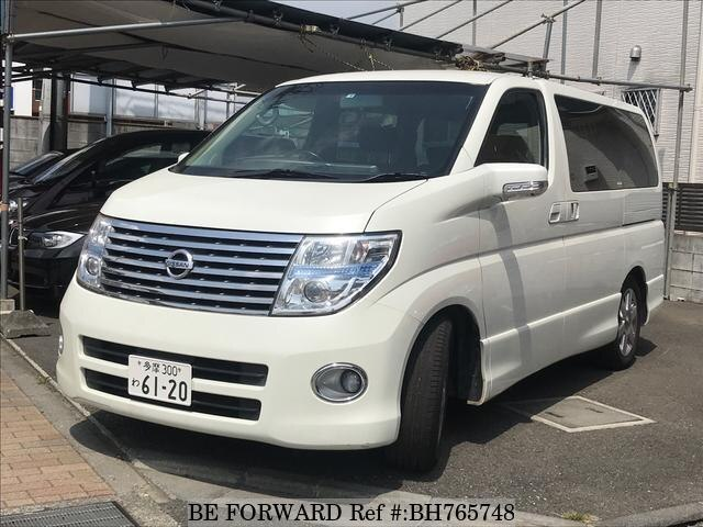Used 2005 NISSAN ELGRAND BH765748 for Sale
