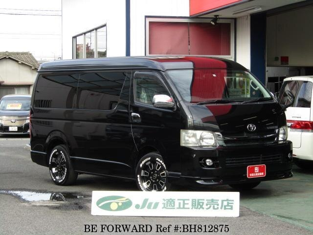 Used 2010 TOYOTA HIACE WAGON BH812875 for Sale