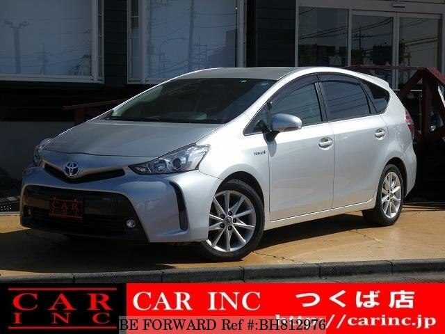 Used 2016 TOYOTA PRIUS ALPHA BH812976 for Sale
