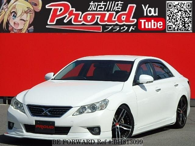 Used 2010 TOYOTA MARK X BH813099 for Sale