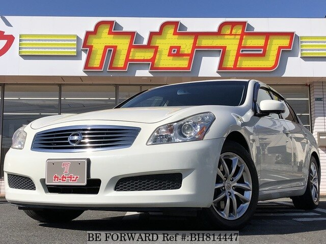 Used 2008 NISSAN SKYLINE BH814447 for Sale
