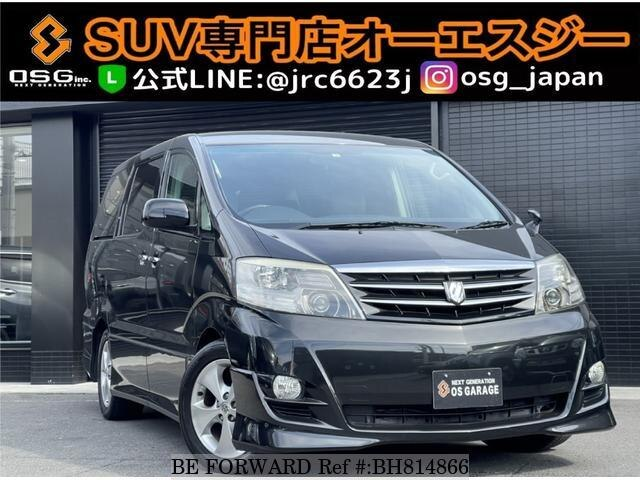 Used 2006 TOYOTA ALPHARD BH814866 for Sale