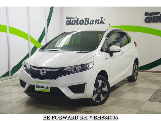 Used 2016 HONDA FIT HYBRID BH834005 for Sale