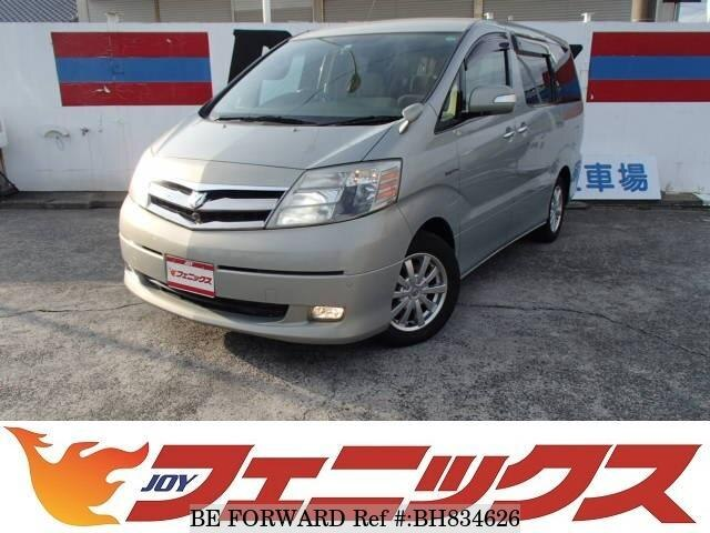 Used 2006 TOYOTA ALPHARD HYBRID BH834626 for Sale